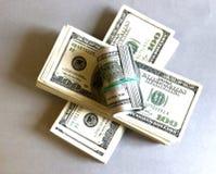 представляет счет доллар Стоковые Фото