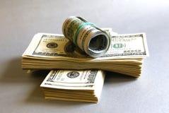 представляет счет доллар Стоковое Изображение