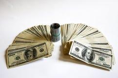 представляет счет доллар Стоковая Фотография