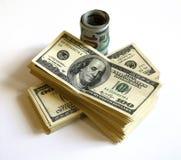 представляет счет доллар Стоковые Фотографии RF