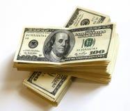 представляет счет доллар Стоковое Фото