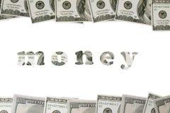 представляет счет сделанная рамка доллара Стоковые Изображения
