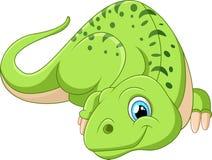 Представлять динозавра шаржа Стоковое Изображение