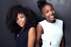 Представлять 2 красивый молодой сестер Стоковые Фотографии RF