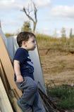 Представлять малыша Стоковые Фотографии RF
