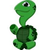 Представлять черепахи шаржа Стоковое фото RF