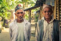 Представлять людей в Непале Стоковые Изображения RF