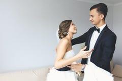 представлять groom невесты Стоковые Изображения RF