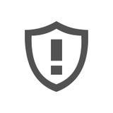 Предупреждающий значок экрана Стоковые Фото