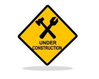 Предупреждение конструкции стоковые изображения
