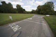Предупреждение дорожного знака Стоковое Изображение RF