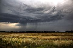 Предупреждение шторма Стоковое Фото