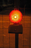 Предупредительный световой сигнал Стоковое Фото