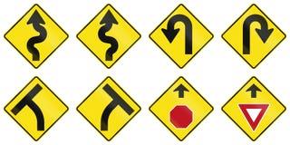 Предупредительные знаки в Австралии Стоковое фото RF