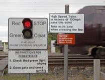 Предупредительные знаки Стоковая Фотография RF