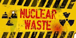 Ядерный отход иллюстрация штока