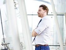 предусматривать бизнесмена Стоковое Изображение RF