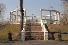 Предыдущая весна в парке города Стоковое Изображение RF