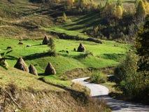 Предыдущая осень в горах Стоковые Фотографии RF