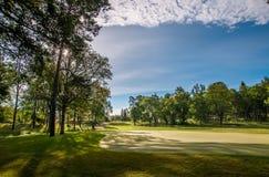 предыдущее утро гольфа Стоковое фото RF