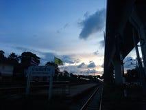 Предыдущий вечер Стоковая Фотография RF
