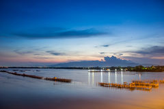 Предыдущий восход солнца Стоковые Изображения