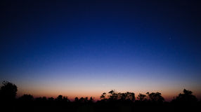 Предыдущий рассвет Стоковые Фотографии RF