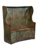 Предыдущий стул деревянной скамьи стиля Стоковое Фото