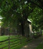Предыдущий Colonial Новой Англии Стоковая Фотография