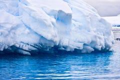 приантарктический айсберг большой Стоковая Фотография RF