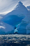 приантарктический айсберг Стоковое Изображение