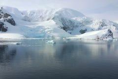 Приантарктический ландшафт Стоковое Изображение