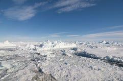 приантарктический ландшафт Стоковое Изображение RF