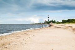 прибалтийский пляж стоковое фото rf