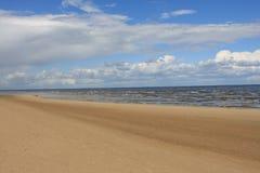 прибалтийский пляж Стоковые Фото