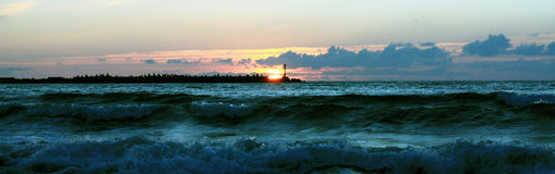 прибалтийский шторм Стоковые Фотографии RF