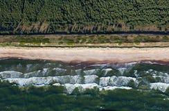 Прибалтийский seashore Стоковые Фотографии RF