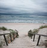 прибалтийское море пляжа Стоковое Изображение RF
