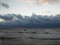 прибалтийская эстония около somethere tallinn моря Стоковые Фото