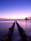 Прибалтийский восход солнца стоковое фото