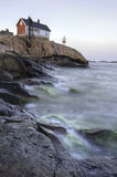Прибалтийский маяк Стоковое Изображение RF