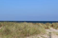 Прибалтийский пляж на Fehmarn Стоковое Фото