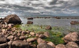 Прибалтийское побережье Стоковые Изображения RF