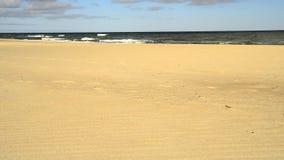 Прибой Балтийского моря в Польше акции видеоматериалы
