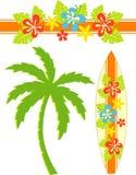 Прибой Гавайских островов Стоковые Фото