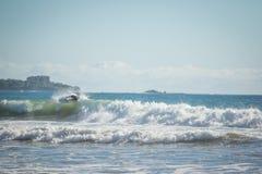 Прибой Коста-Рика Стоковое Изображение RF