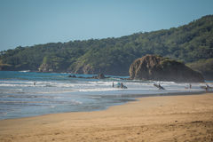 Прибой Коста-Рика стоковое фото rf
