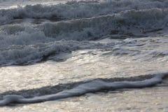 Прибой моря конца-вверх Стоковое фото RF