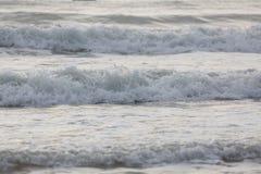Прибой моря конца-вверх Стоковое Изображение RF