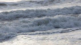 Прибой моря конца-вверх Стоковые Фото